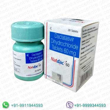 Natdac 60 mg tablet
