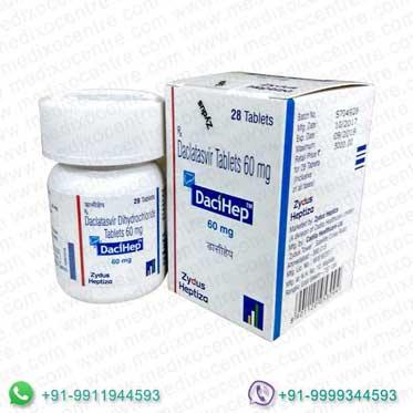 Dacihep 60mg tablets