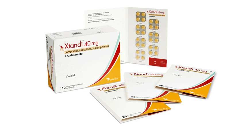 Enzalutamide 40 mg