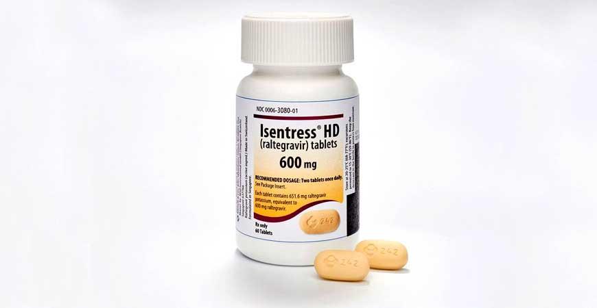 Raltegravir 400 mg